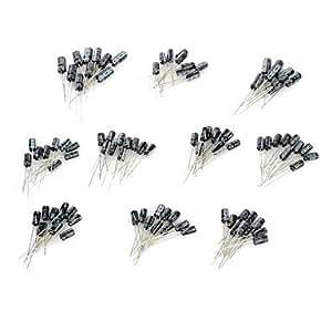 DIY 0,1 ~ 22UF condensateur électrolytique pour DIY Project - (100 PCS)