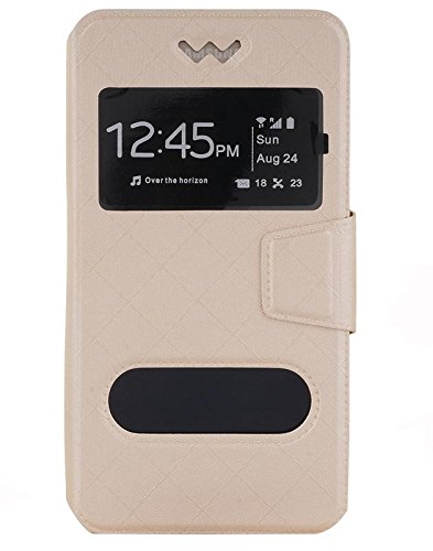 Shopme PU Leather Flip cover for Karbonn Titanium S5 Ultra  available at amazon for Rs.279