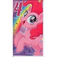 "My Little Pony MP033""Movie Age 4"" Birthday Card"