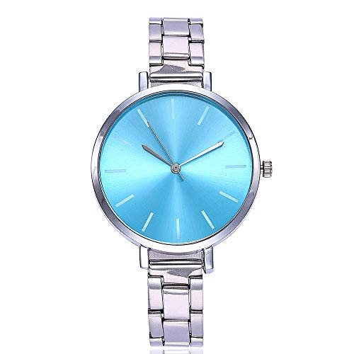 TianWlio Armbanduhren Damen Mode Beiläufige Quarz Edelstahl Band Marmorband Uhr Analoge Armbanduhr
