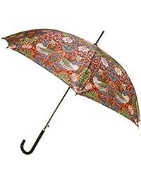 Signare Paraguas Mango de Bastón en el diseño Ladrón de fresas rojo