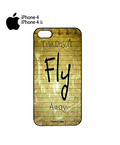 One Day I'll Fly Away You Will See Funny Retro Mobile Phone Case Cover iPhone 6 Plus + Black Noir
