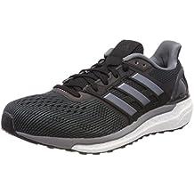 Adidas Response Boost Techfit Junior B26540 - Zapatillas de deporte(talla 382/3), color plateado, niño, core black/ftwr white/solar red, 38 2/3 EU