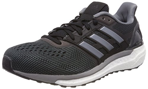 adidas Supernova, Chaussures de Running Compétition Homme, Noir Noir (Core Black/grey Three F17)