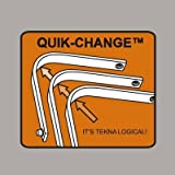 Tekna Quik-Change Gullet Plate - Jumping Saddle - Size:Wide Color:Lilac