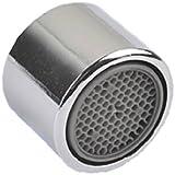 Salle de bain Cuisine lavabo évier mâle filetage femelle robinet aérateur Mousseur vous permet Insert d'économie d'eau robinet de rechange pour accessoires, Cuivre, 22 mm