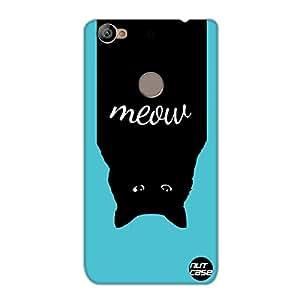 Designer Le Eco 1s Case Cover Nutcase-Meow Cat Funny