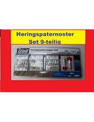 Paternoster SET Heringspaternoster 9-teilig Hochwertige Qualität VorfachhakenNEU