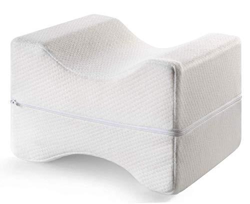 Mary´s Orthopädisches Kniekissen   Memory Foam   Geeignet für Seitenschläfer   Entlastung von Hüft-, Rücken- und Knie-Schmerzen   Druckentlastung   Schwangerschaft   Reha