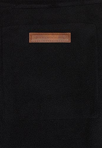 Naketano Male Zipped Jacket Schnitzelpopizel III Black