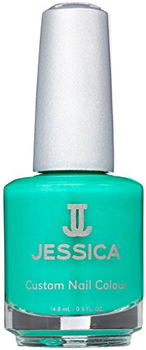 Jessica Cosmetics Nail Colour Electric Teal, 14.8 ml
