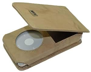 MTT Flip-Tasche für Apple iPod Classic Modelle - 30GB / 60GB / 80GB / 120GB / 160GB Video / in wash-beige