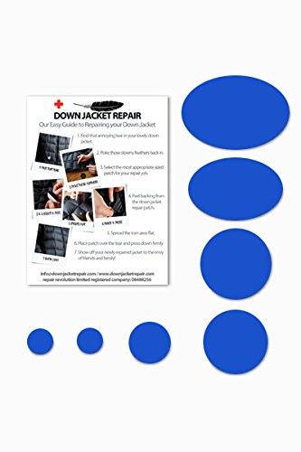 Down Jacket Repair - Kit pièces autocollantes de réparation de doudoune