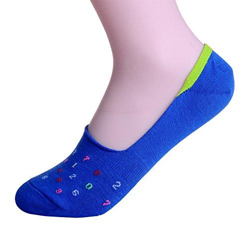 Laulax - Socquettes - Homme Multicolore multicolore Taille Unique - Bleu - Taille Unique