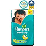 Couches Pampers Baby-Sec Taille 3 Grand Sac - 70 Langes -