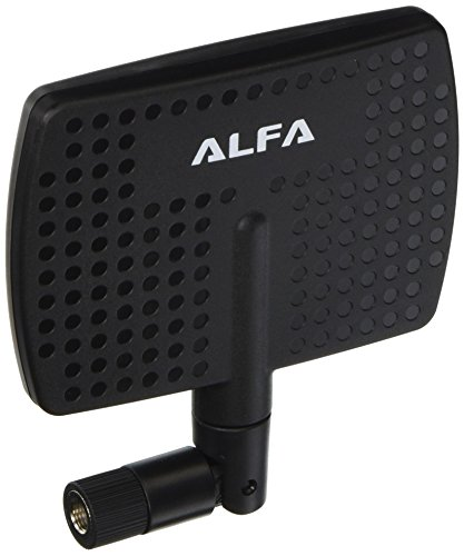 Alfa 2.4HGz 7dBi Booster SMA Panel High-Gain-Schraub-Schwenk-Antenne für Linksys - WET54G, WET54GS, WMP54G, WET11, WRV54G, WMP11 PCI Karte, WPS11, WRT54GC auch für Netgear - FM114P, FVM318, FWG114P, MA311, ME101, ME103, WG302, WG311 und WG311T Panel-antenne