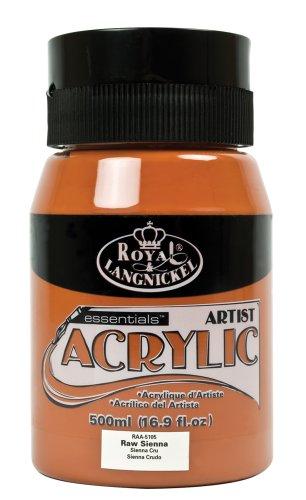 Royal & Langnickel RAA-5105 - Essentials 500 ml Acrylfarbe, ungebranntes sienna