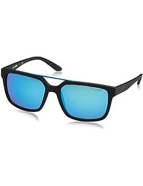 Arnette Petrolhead, Gafas de Sol Unisex-Adulto, Matte Black 01/25, 57