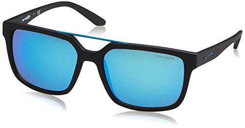 Arnette Herren 0AN4231 01/25 57 Sonnenbrille, Schwarz (Matte Black/Blue),