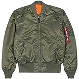 Alpha Industries Kinder Bomberjacke MA-1 TT, Farbe:sage-Green, Größe:146-152