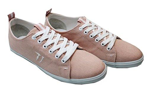 Trussardi Jeans 79S083 Rosa Sneakers Donna Scarpa Sportiva Rosa
