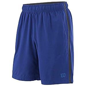 Wilson UWII Woven 8″Herren Tennis Shorts, Blau, L