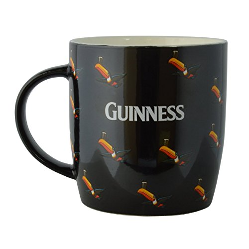 Guinness Becher mit Flying Toucans Black Multiple (Infundiert Alkohol)