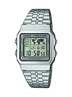Casio Men's Digital Watch with Stainless Steel Bracelet A500WEA-7EF (B00N5TEROI) | Amazon Products