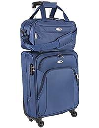 CABIN GO Max 5550 Trolley con equipaje de mano Tamaño de cabina pequeña - Carro suave