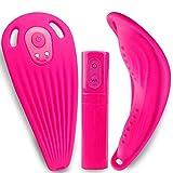 Vibrator, tragbare Ferngesteuerte und 10 Modi Versteckt Klitorisstimulator G-Punkt Massager Geschlecht spielt für Frauen