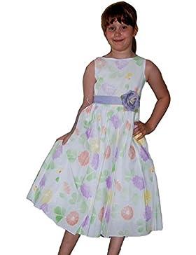 Blumenmädchen Kleid, Baumwollkleid, Blumenkinderkleid