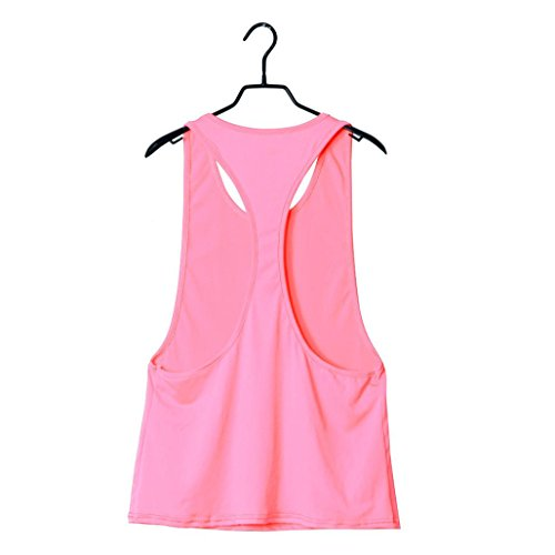 Amlaiworld Femmes Fitness Sport veste Training course Yoga Pilates en vrac Rose