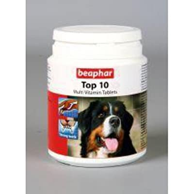 Beaphar Vitamins » Dog Top 10 Vitamins » 180 Tablets by Monster Pet Supplies