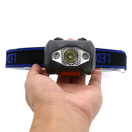 300 Lumen 4 Modi Mini Scheinwerfer Outdoor Scheinwerfer Wasserdicht Flash Head Lampe Fackel Laterne Für Die Jagd, Verwenden AAA Batterie 90° Rotation ()