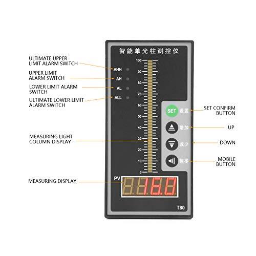 BigBig Style Liquid Column Level Intelligent Pressure Contorller Light Column Display 4-20MA Level Transmitter -
