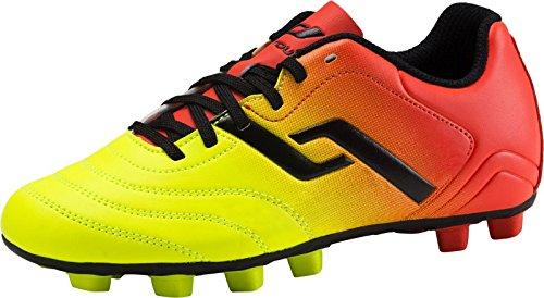 Pro Touch Unisex-Kinder Classic II MxG Jr. Fußballschuhe Orange/Gelb/Schwarz 000, 34 EU