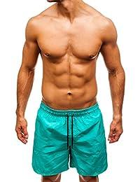 7ec97d79642a2f BOLF Pantaloncini da Bagno – Sportivi - con Inserti Contrastanti – da Uomo  7G7