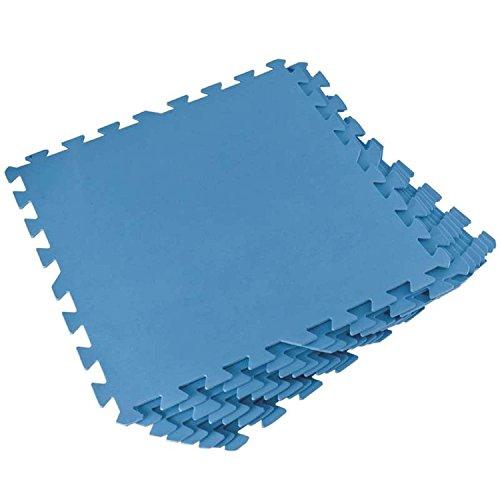 Bestway Unterlage für Quick-up Fast-Set Frame-Pool Planschbecken Bodenschutz-Fliesen 8 Teile je 50x50x0,4cm Untergrund (Hersteller-teil Filter)