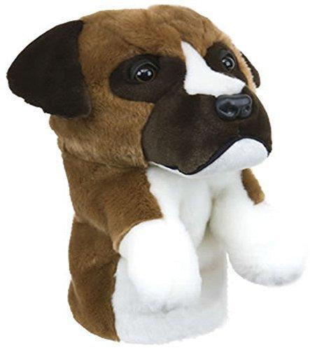 Boxer Dog Daphne's, Motiv: Golfschläger-Haube, 460cc Driver 1 Holz-Kopf