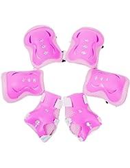 Meta-U 6 Pcs / Set Enfants Patinage de protection GEAR-2 coudières+2 Wrist Pad+2 Knee Pads