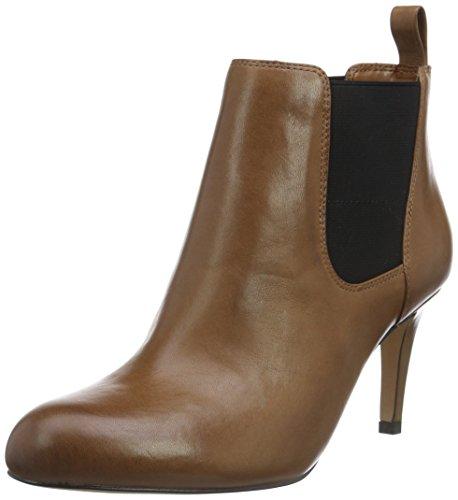 Clarks Women's Carlita Quinn Beige Boots - 4 UK/India (37 EU)