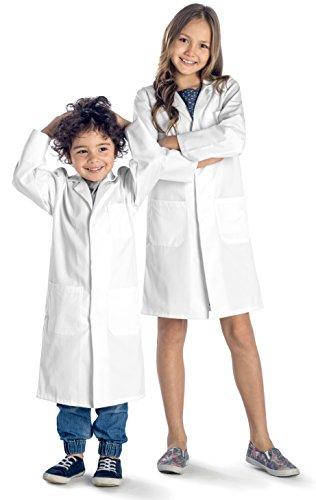 Dr. James Kinder Laborkittel Weiß Alter (Kostüm Doktor Der 11)