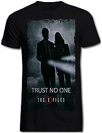 T-shirt X-Files série télé coton noir