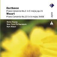 Beethoven: Piano Concerto No. 1 - Mozart: Piano Concerto No. 23