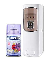Praga Lemon Autometic Air Freshner Dispenser/Automatic Freshener Freshener Machine With - One Refill (Pack of-2)
