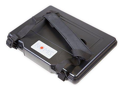 NOMIS Hartschalenkoffer Outdoor Cases 33,2 x 26 x 4,9cm staub- wasserdicht schwarz Notebook Tablet
