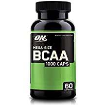 Optimum Nutrition (ON) BCAA Branched Chain Amino Acids 1000 mg - 60 Capsules