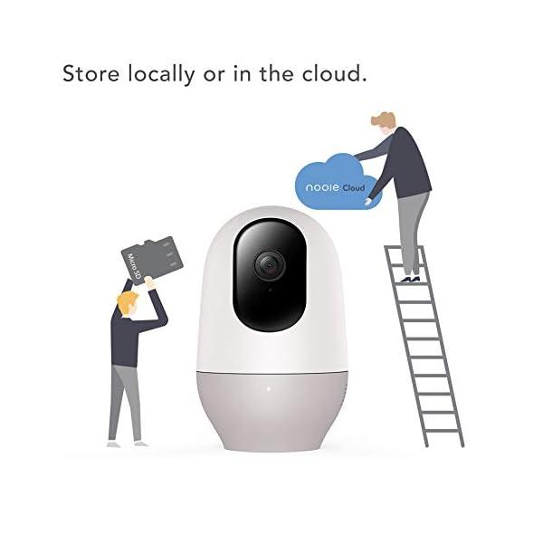 Baby-Monitor-Nooie-Telecamera-di-Sorveglianza-WiFiFHD-1080P-360-videocamera-IP-Interno-Wireless-con-Visione-Notturna-pet-camera-Audio-Bidirezionale-Sensore-di-Movimento