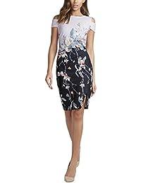 Lipsy - Lilac Floral Midi Dress