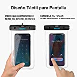 Waterproof Phone Case[2Packs], Mpow IPX8 Waterproof Phone Pouch Dry Bag with Portable Lanyard for iPhone XS max/XS/XR/X/8/7 plus, Samsung and Other Phones up to 6.5, Perfect for Beach, Hiking, Travel
